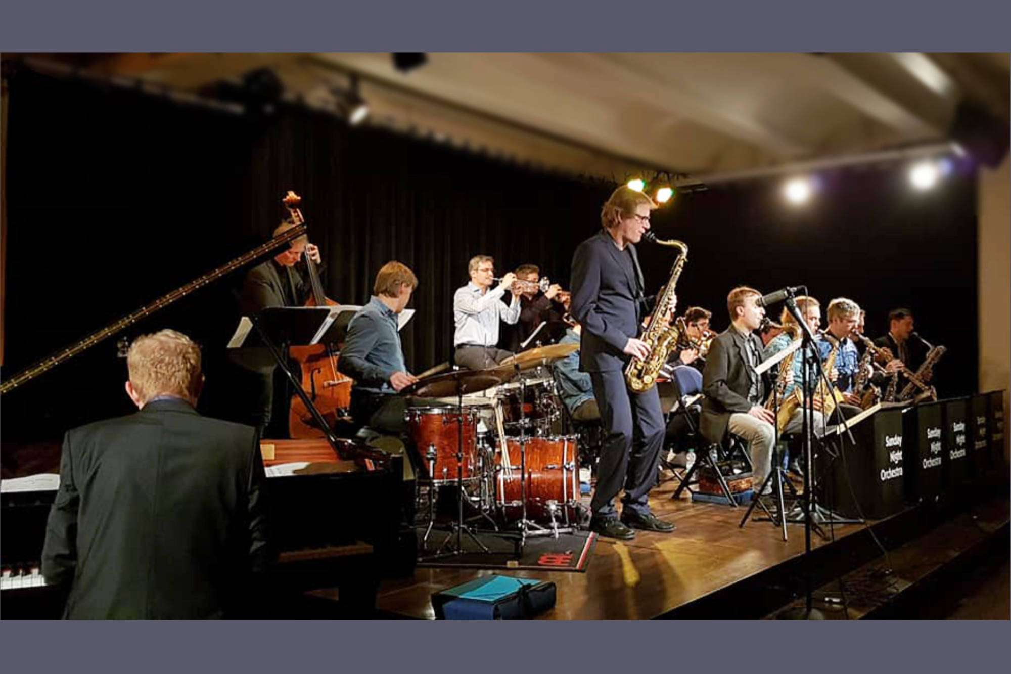 Feb. 2018: Sunday Night Orchestra feat. Paul Heller