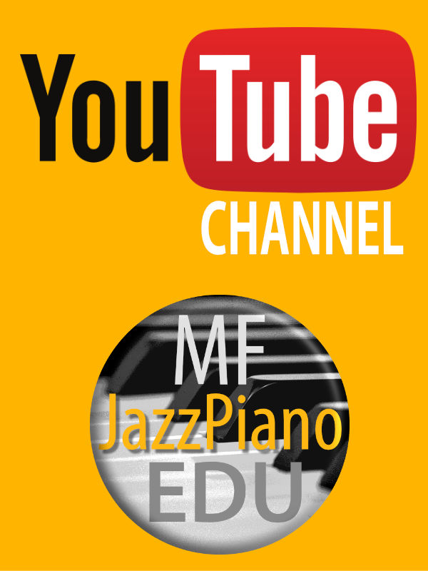 Youtube Channel JazzPiano Education